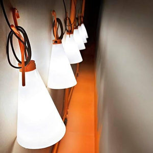 FLOS May Day Orange Table Lamp - London Lighting - 9