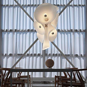 FLOS Nebula White Suspension Pendant - London Lighting - 7
