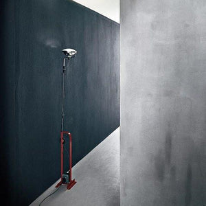 FLOS Toio Red Foor Lamp - London Lighting - 6