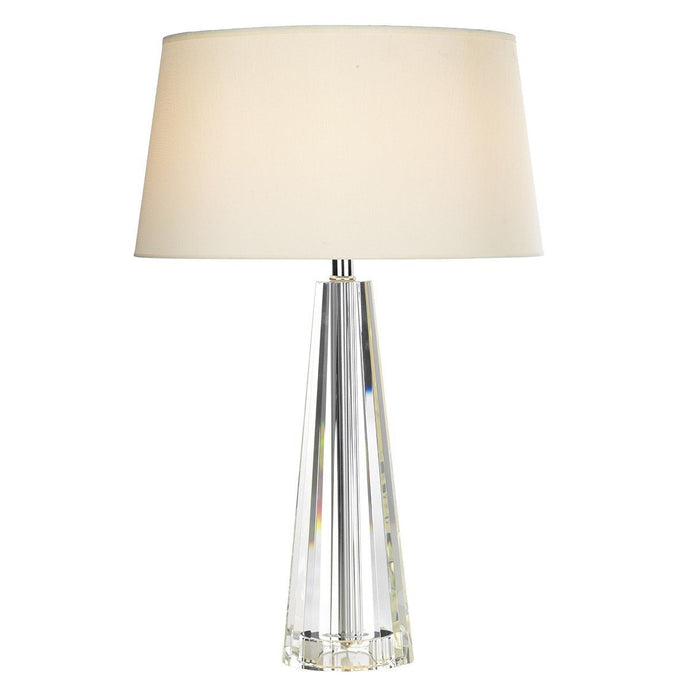Cyprus Cream Table Lamp - London Lighting - 1
