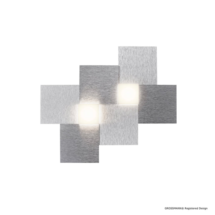 Grossmann CREO Two Lamp Wall / Ceiling Light - Colour Options