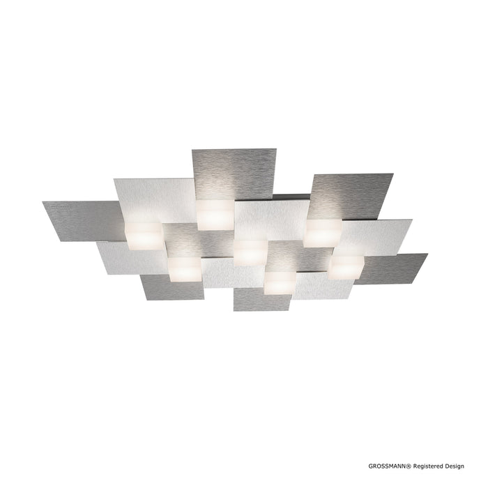 Grossmann CREO Seven Lamp Ceiling Light - Colour Options