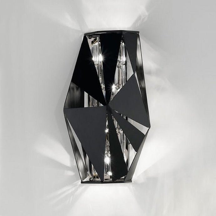 Crystal Rock Wall Light