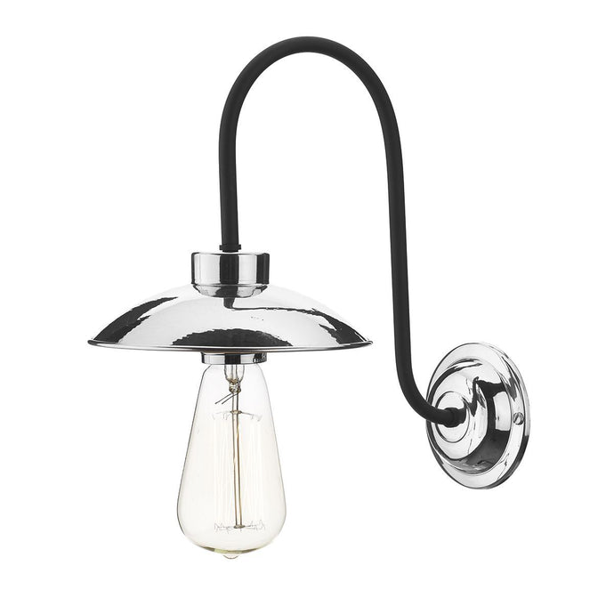 Dallas Small Polished Chrome Wall Light - ID 7497