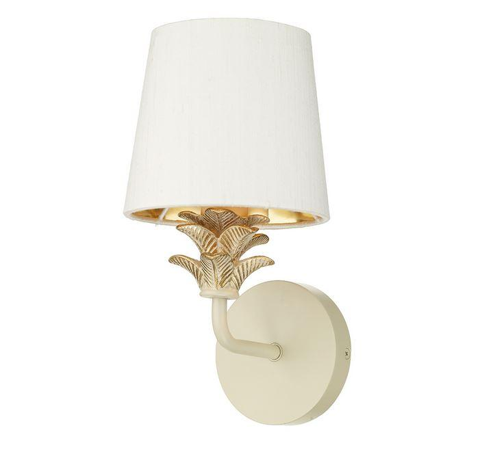 Cabana Cream/Gold Wall Light (shade sold separately) - ID 6962