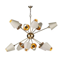Sputnik Bronze 12 Light Pendant With Separately Priced Shades (With Shape & Colour Options) - ID 10168
