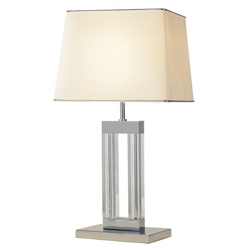 Domain Cream Table Lamp - London Lighting - 1