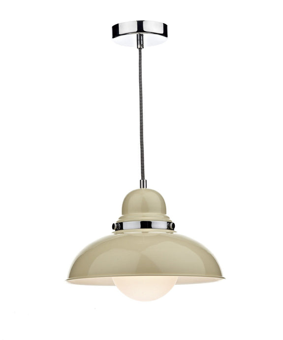 Dynamo Cream Suspended Ceiling Light - London Lighting - 1