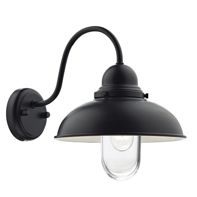 Dynamo Black 1 Light Wall Bracket - London Lighting - 1