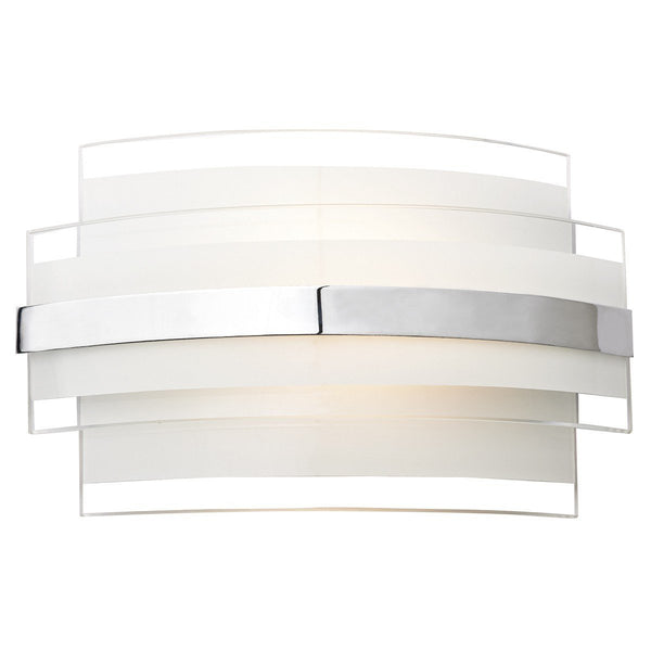 Edge White Small Single Wall Bracket - London Lighting - 1