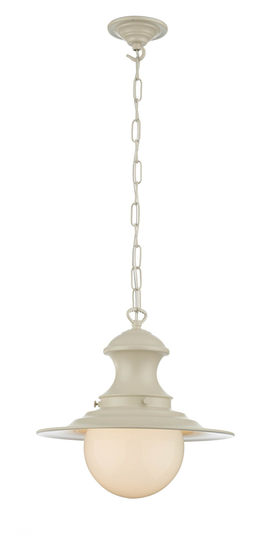 Small Station Lamp in Cream - London Lighting - 1