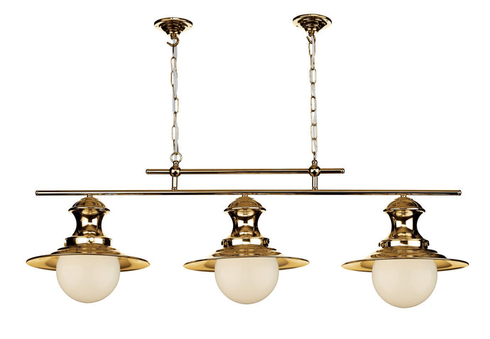 Triple Station Lamp in Copper - London Lighting - 1