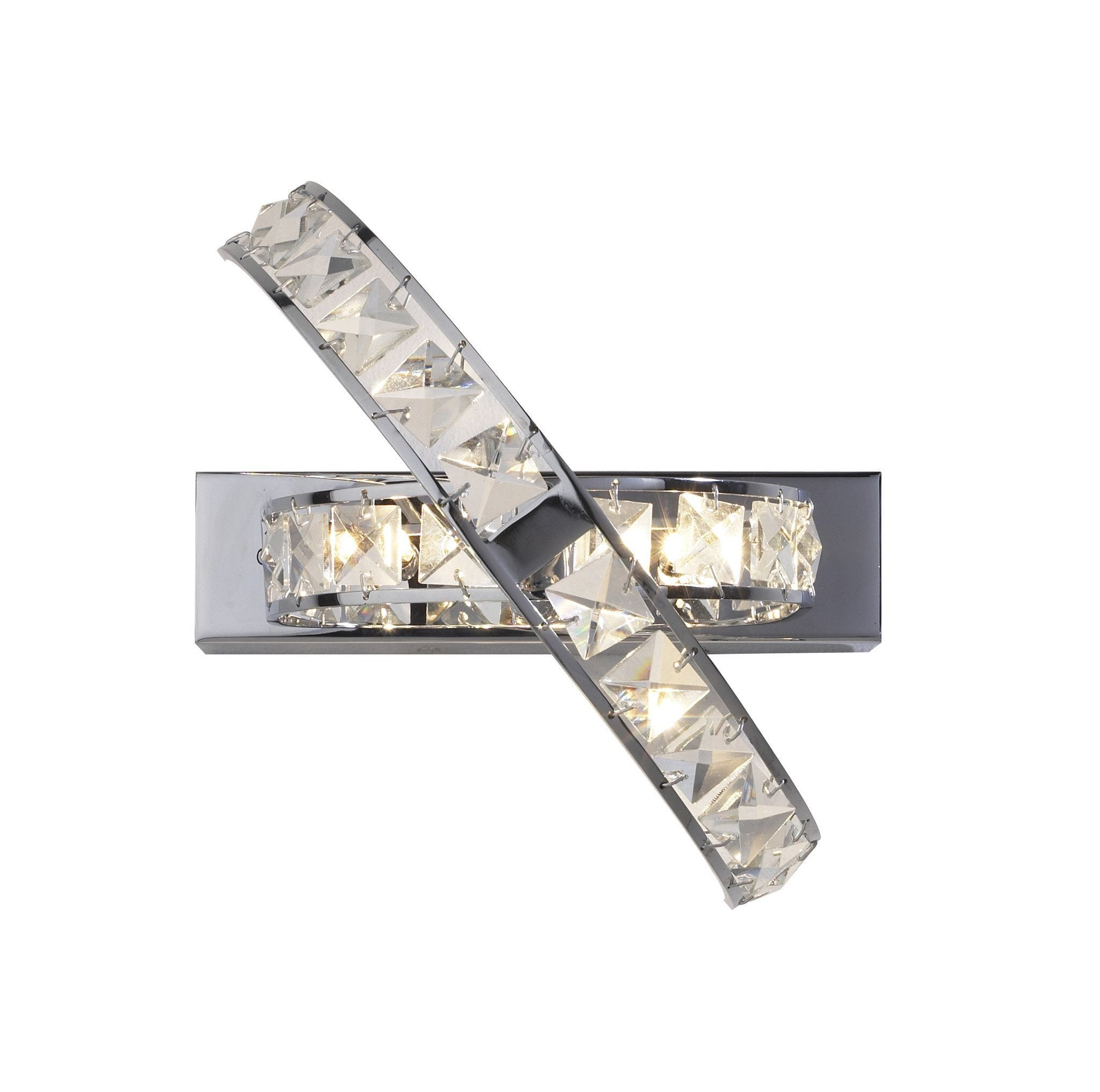 Eternity Chrome Wall Light - London Lighting - 1