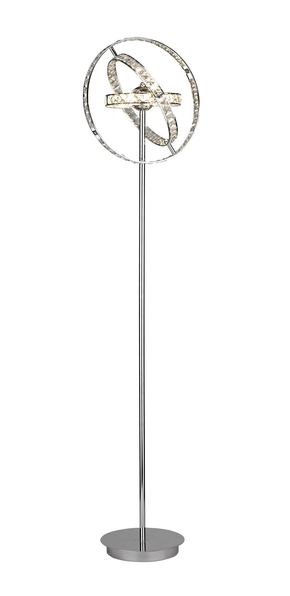 Eternity Chrome Floor Lamp - London Lighting - 1
