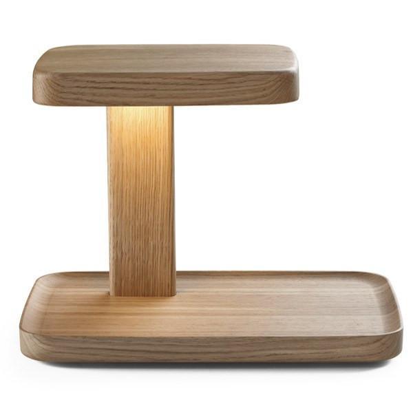FLOS Piani Big Wood Table Lamp - London Lighting - 1