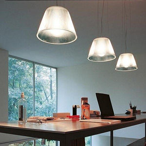 FLOS Romeo Moon S1 Glass Suspension Pendant - London Lighting - 6