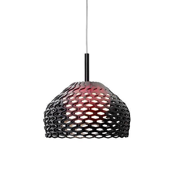 FLOS Tatou S1 E27 Black Suspension Pendant - London Lighting - 1