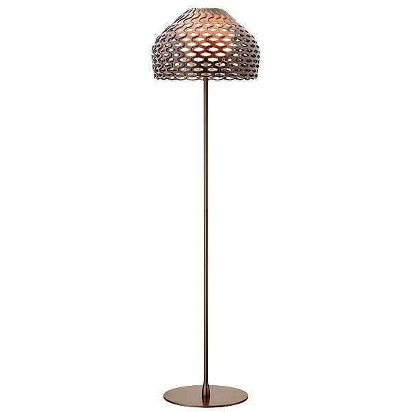 FLOS Tatou F Ochre-grey (GB) Floor Lamp - London Lighting - 1