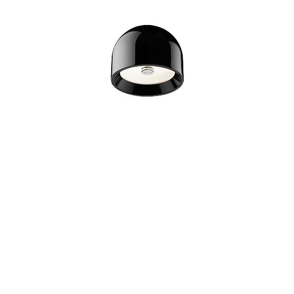 FLOS Wan C/W Black Wall or Ceiling Light - London Lighting - 1