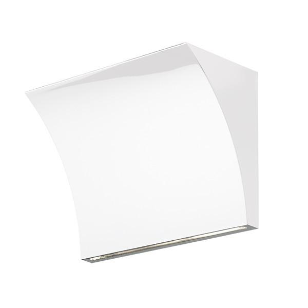 FLOS Pochette Up/Down Shiny White Wall Light - London Lighting - 1