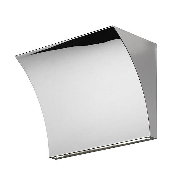 FLOS Pochette Up/Down Chrome Wall Light - London Lighting - 1