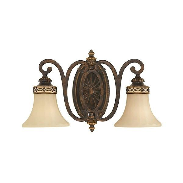 Feiss Drawing Room 2 Light Wall Light 279mm - London Lighting - 1