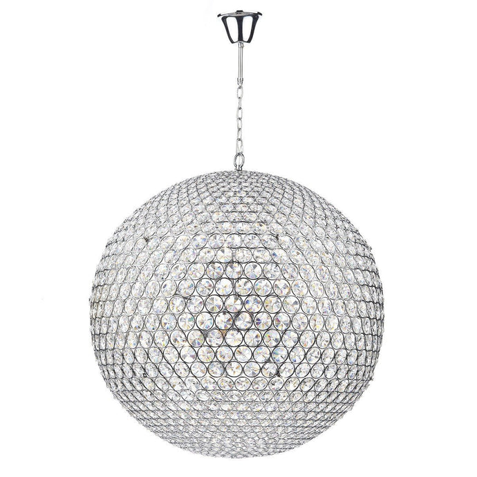 Fiesta Polished Chrome 12 Lights Pendant Light - London Lighting - 1