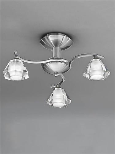 Twista 3 Arm Ceiling Light - London Lighting - 1