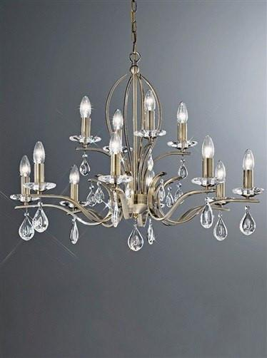 Willow 12 Arm Ceiling Light - London Lighting - 2