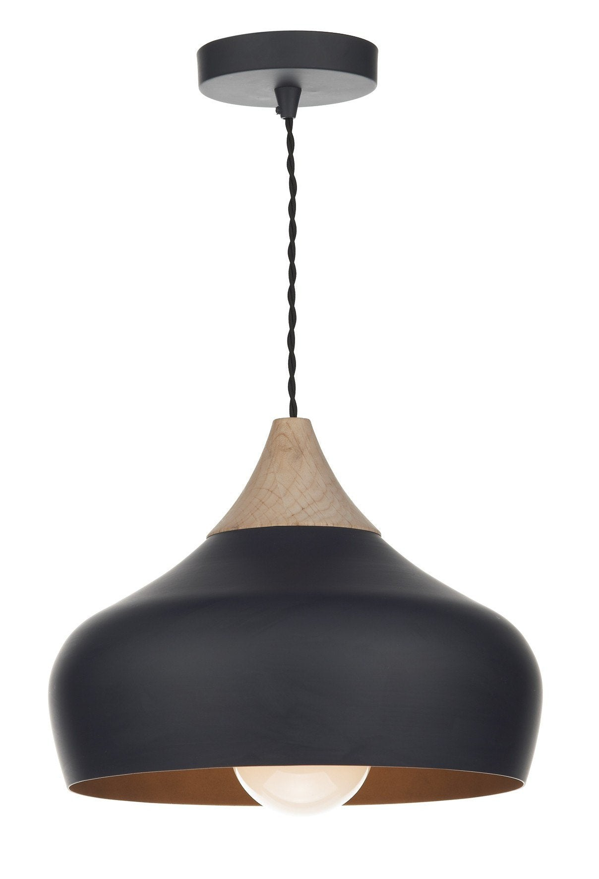 Gaucho Black Ceiling Light - London Lighting - 1