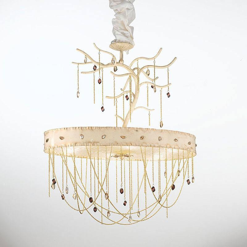 Heritage 6 Light Murano Glass Chandelier