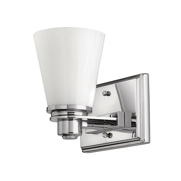 Hinkley Avon Single Bathroom Wall Light - London Lighting - 1
