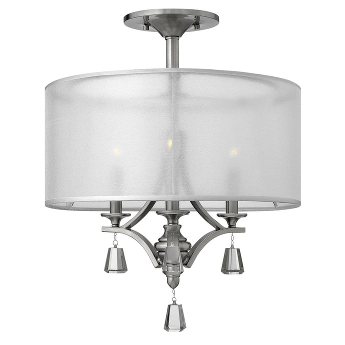Hinkley Mime Semi-Flush - London Lighting - 1
