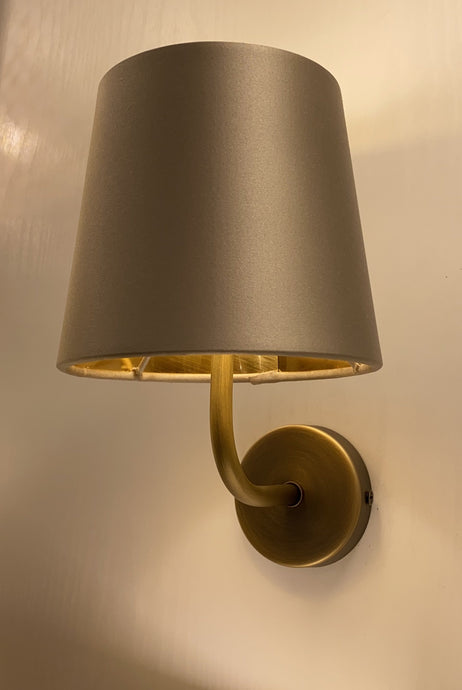 Oxfin Elegant Antique Brass Wall Light - ID 9928