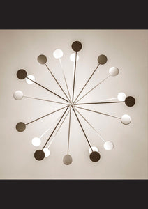 Icone Arbor 12 Arm Flush Ceiling Light - London Lighting - 7