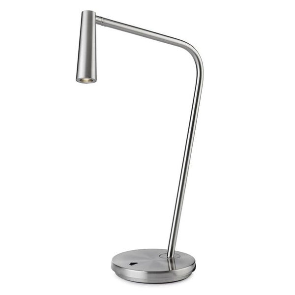 GAM Satin Nickel Directional Table Light - ID 10736