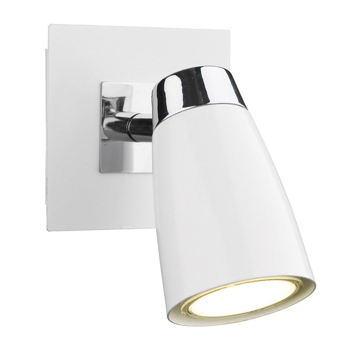 Loft Polished Chrome 1 Light Wall Light - London Lighting - 1