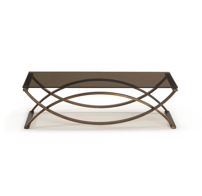 Brox Brushed Brass & Bronze Coffee Table - ID 9075