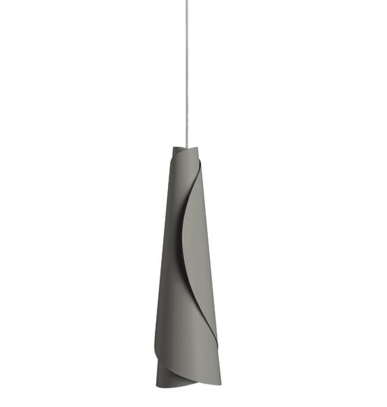 FOSCARINI MAKI SUSPENSION GREY - London Lighting - 1