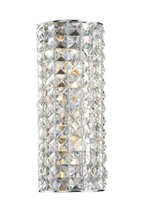 Matrix Chrome 2 Lamp Ceiling Light - London Lighting - 1