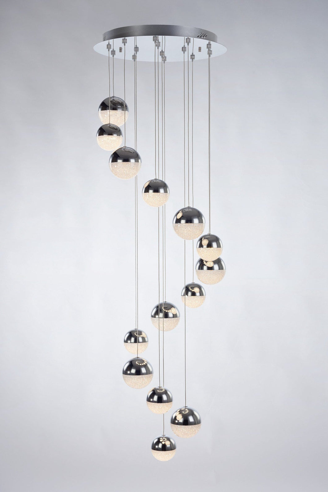 Eclipse 14 Light Pendant - London Lighting