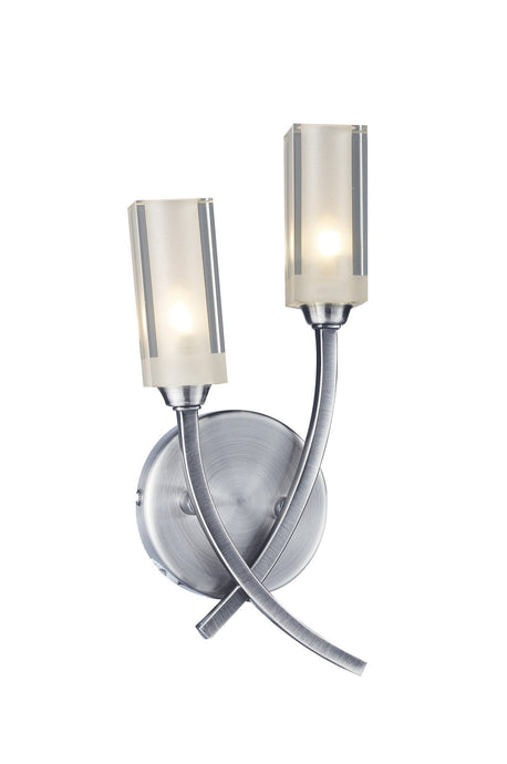 Morgan Satin Chrome Wall Lamp - London Lighting - 1