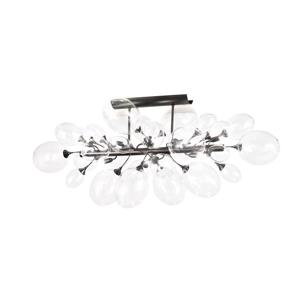 Ballon Bespoke Italian 8 Lamp Semi-Flush with Blown Glass - Colour Options ID2054