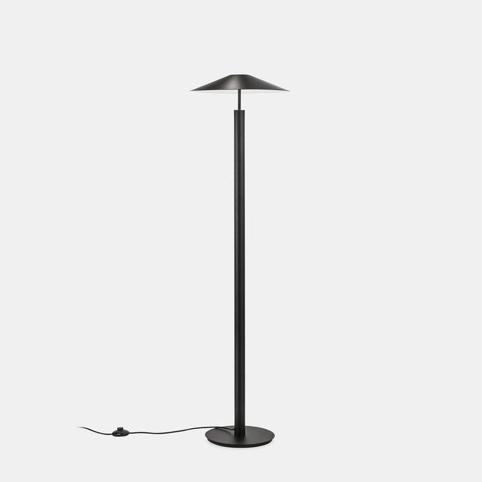 HAT Black Up & Down Diffused Floor Light - ID 10731