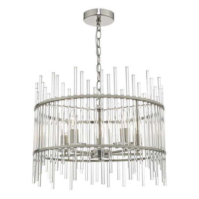 Richmond Glass Rod Chandelier - ID 8587