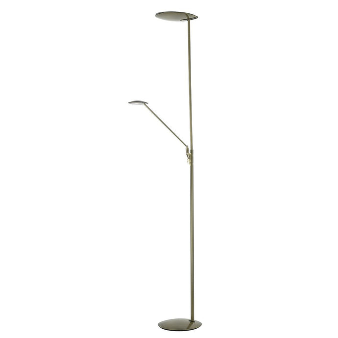 Bronze LED Floorstand with Adjustable Head and Arm - ID 5794