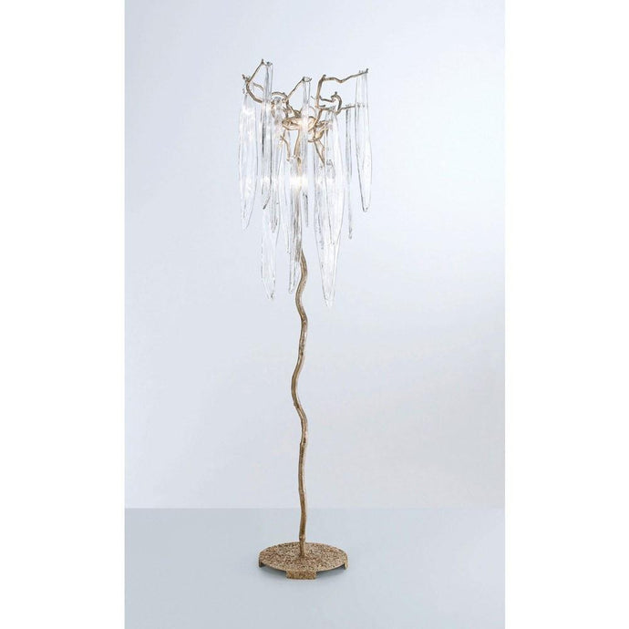 Serip Waterfall 5 Lamp Bespoke Decorative Floor Lamp - London Lighting - 1