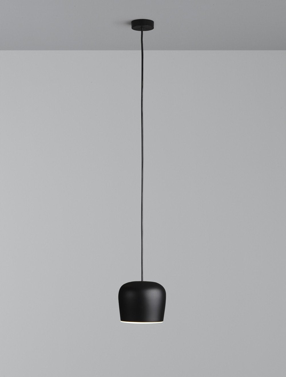 FLOS Aim Small Fixed Black Pendant