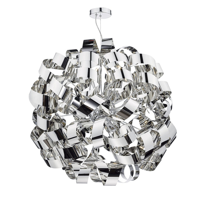 Becontree Polished Chrome 12 Light Pendant - ID 5787