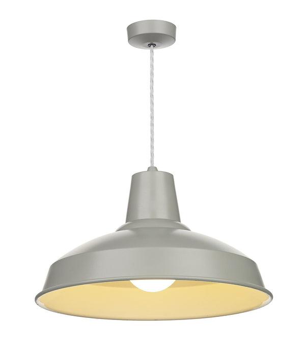Reclamation Grey Lamp Ceiling Light - London Lighting - 1